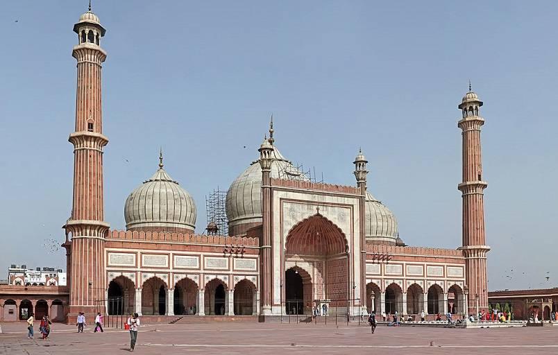 Masjid-i Jahan-Numa, India - Masjid Terbesar dan Terindah di Dunia