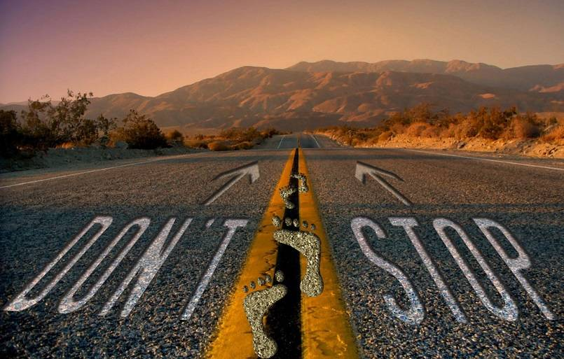 Jangan Pernah Berhenti