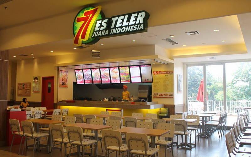 Bisnis Kuliner Sukses, Es Teler 77