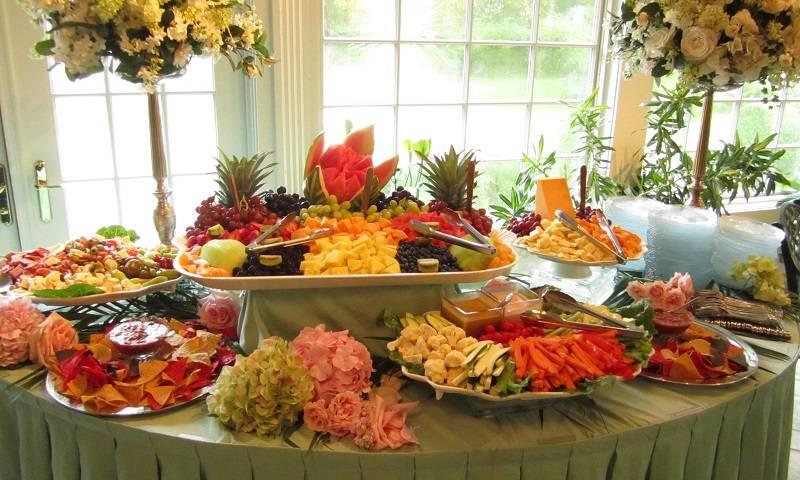 Makanan Pernikahan Enak Lezat Bergizi