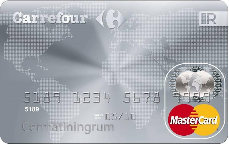 Contoh Kartu Kredit Nasional