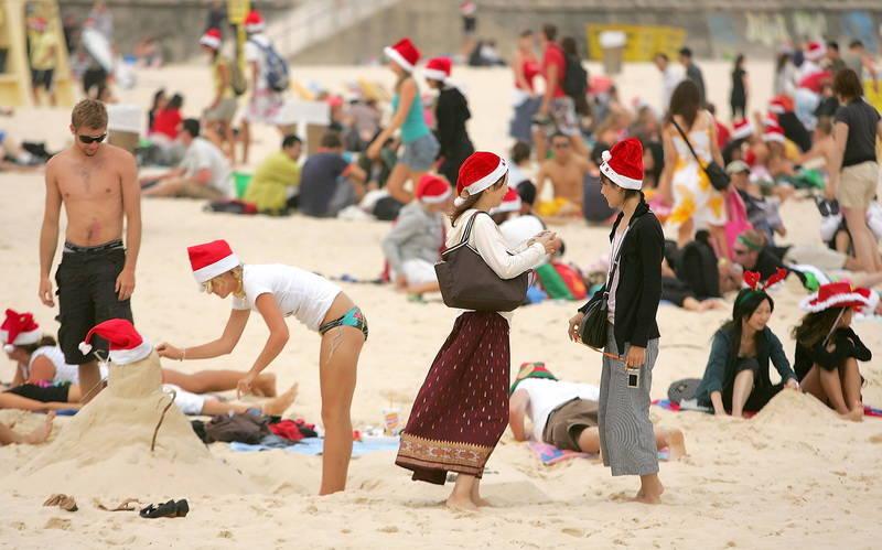 Natal di Australia Jatuh pada Musim Panas