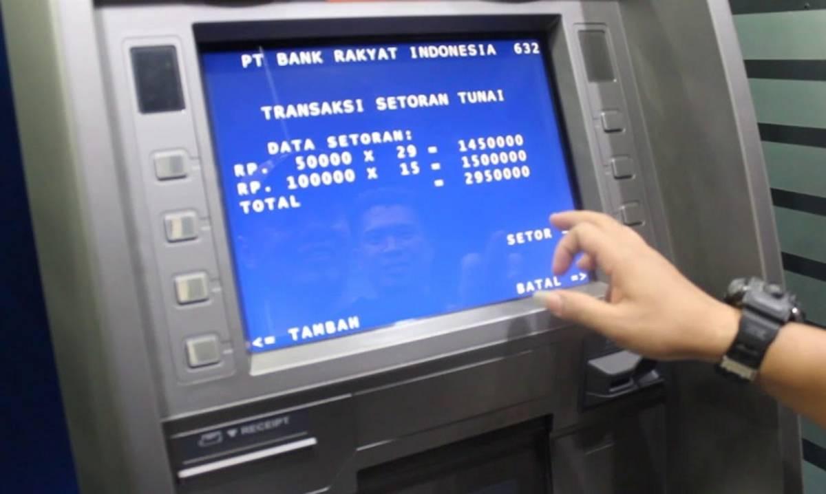 Cara Setor Tunai di ATM BRI dan Tips-Tips Bertransaksi yang Aman ...