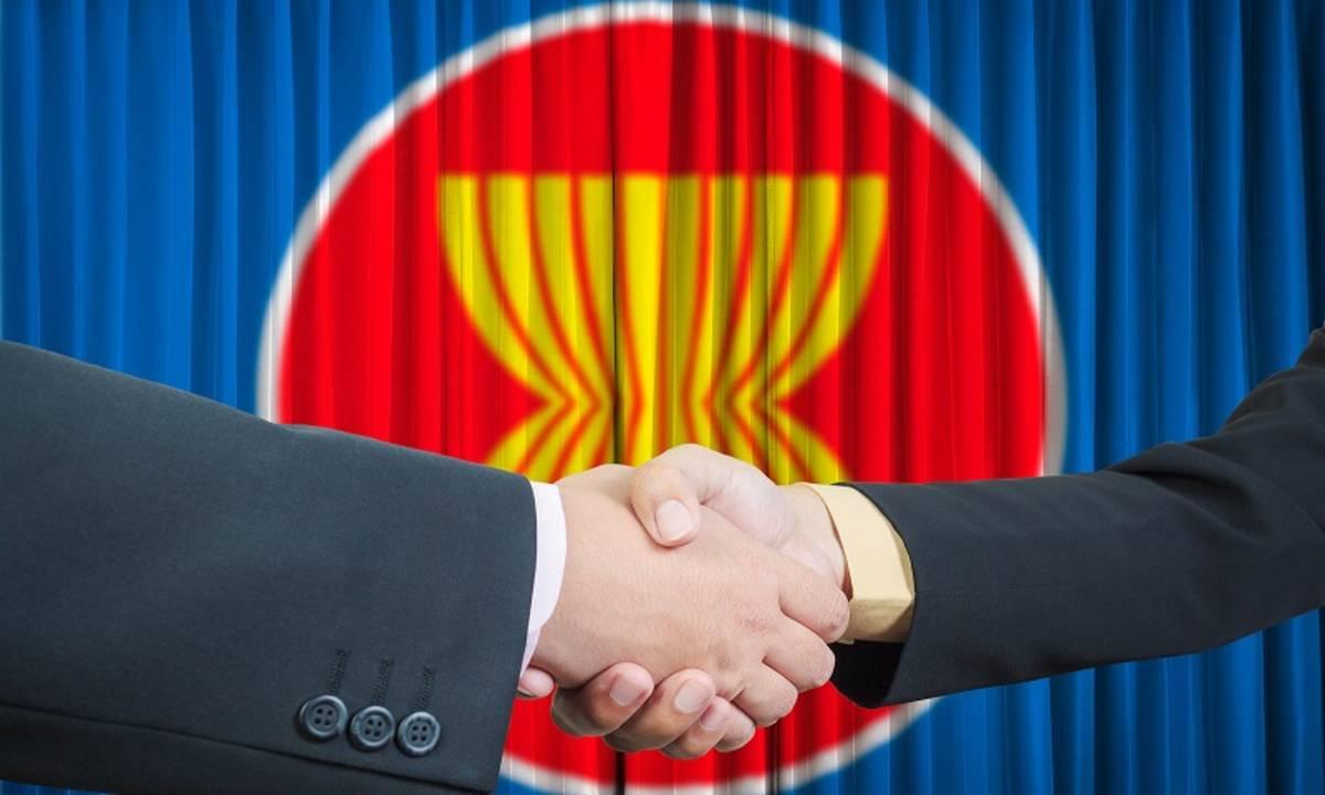 membuka sinyal tangan perdagangan terbuka