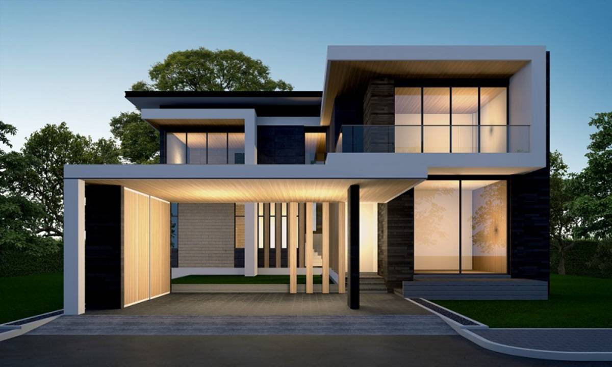 Desain Rumah Minimalis Dua Lantai Dan Tips Membangunnya
