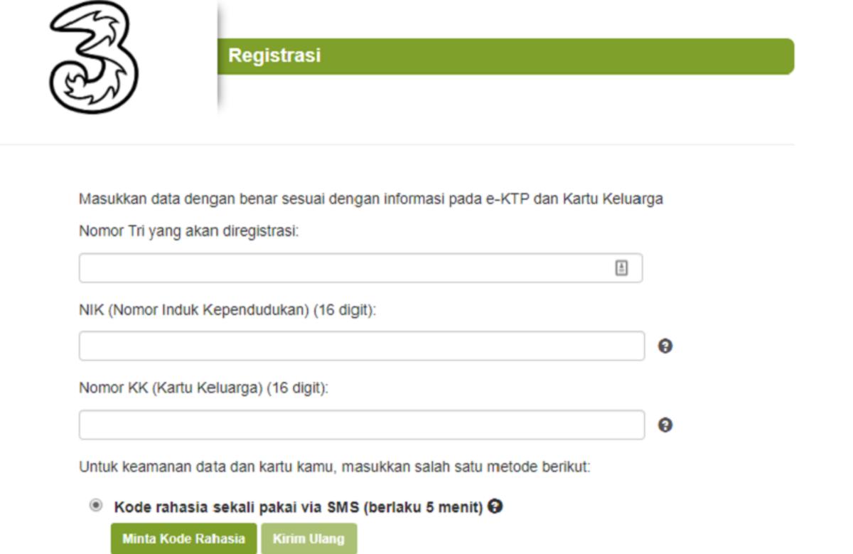 Cara Daftar Dan Registrasi Ulang Kartu Sim Prabayar Semua Operator Cermati Com