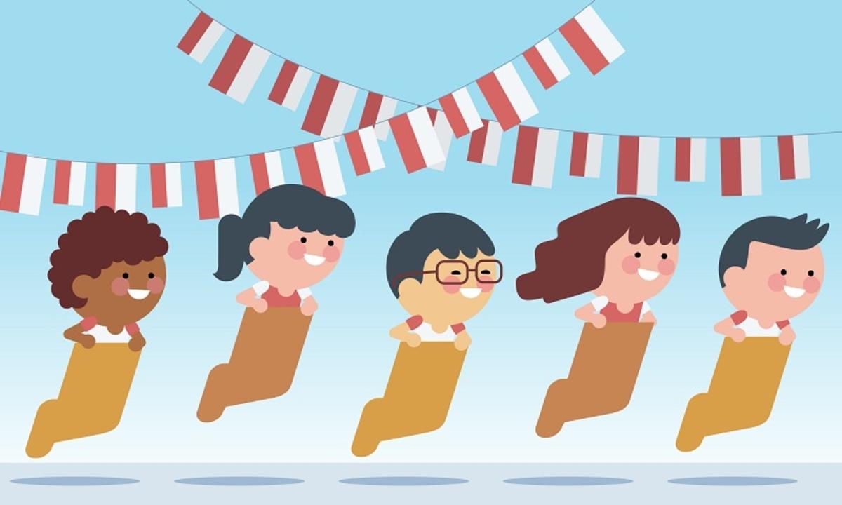 4000 Gambar Anak Tk Tema Hari Kemerdekaan
