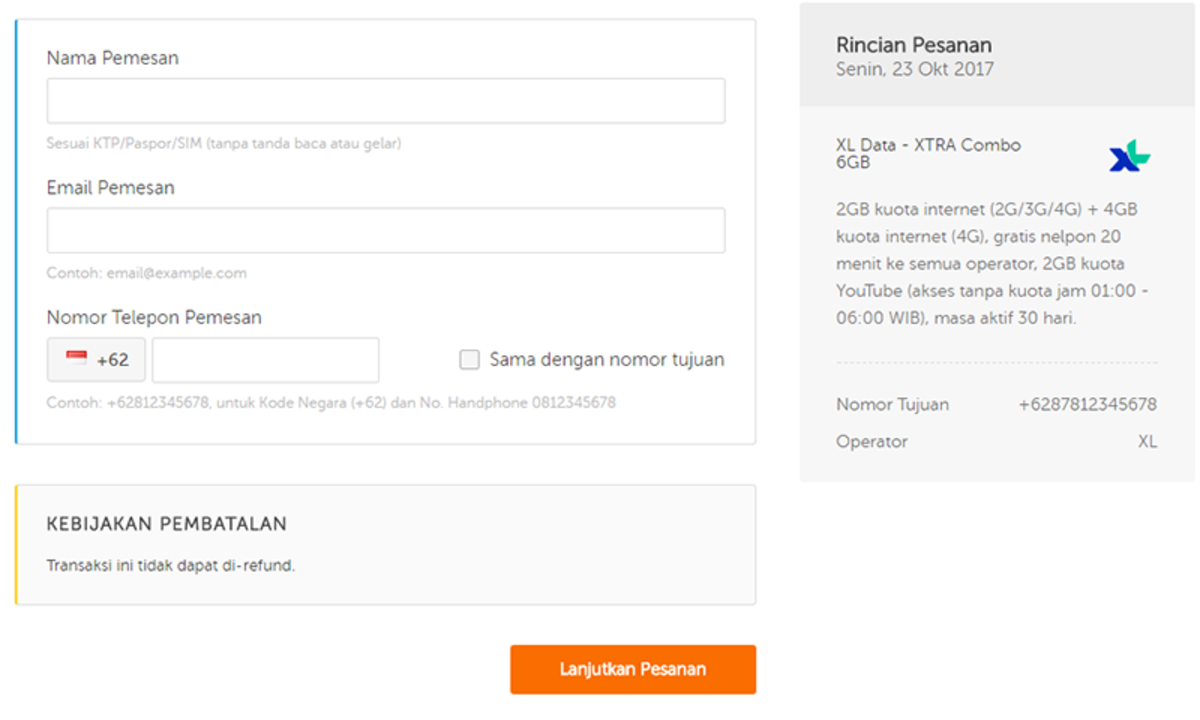 Paket Internet Telkomsel Simpati, XL, Indosat, dan Operator