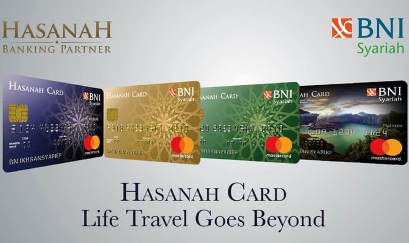 Contoh Kartu Kredit Syariah Milik Bank BNI