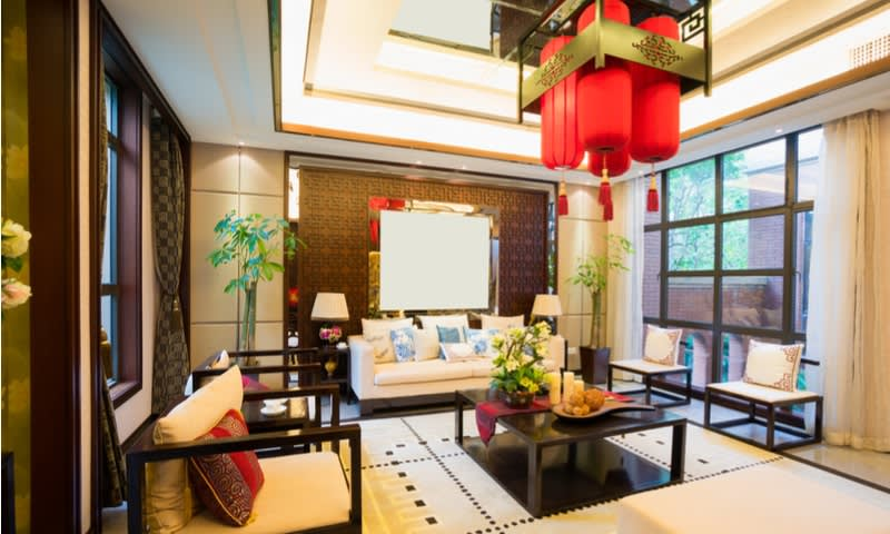 Dekorasi Rumah dengan Suasana Oriental