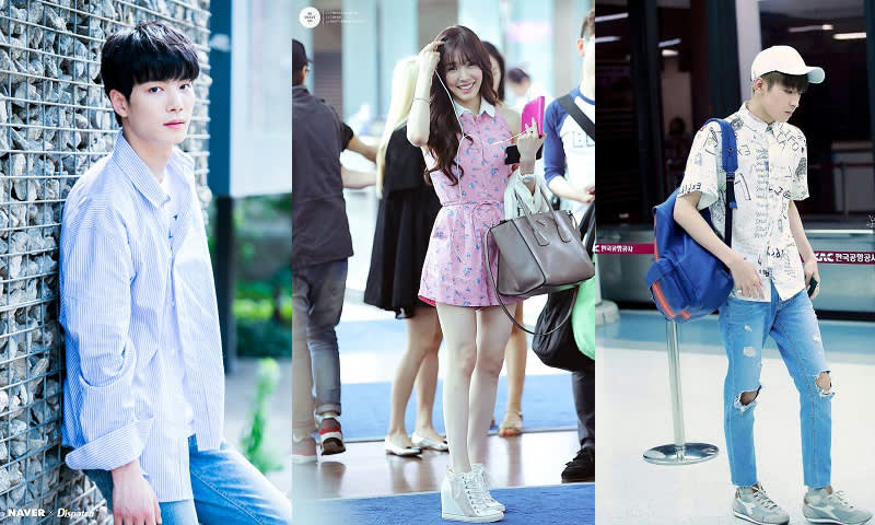 Boyfriend/Girlfriend Fashion Nuest JR, SNSD Tiffany dan Seventeen Wonwoo
