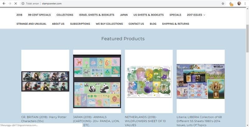 Homepage stamcenter.com