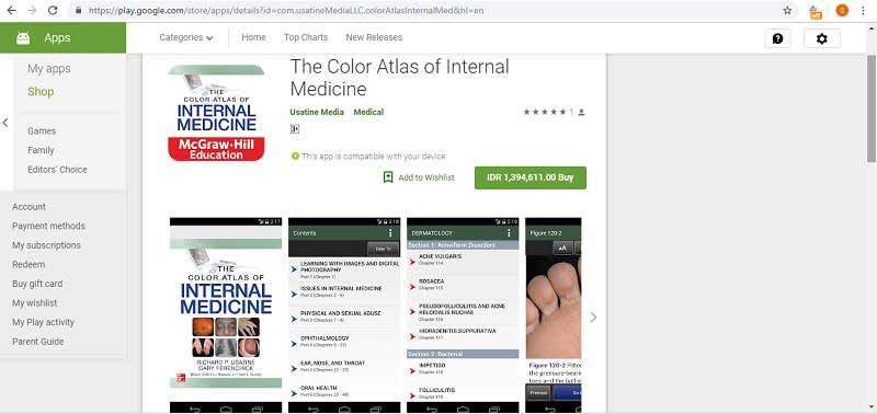 The Color Atlas of Internal Medicine Play Store