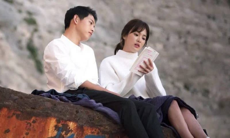Song Song Couple Behind The Scene Drama Descendants of The Sun