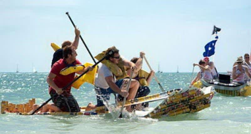 Lomba Perahu di Australia