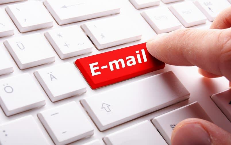 Email Palsu