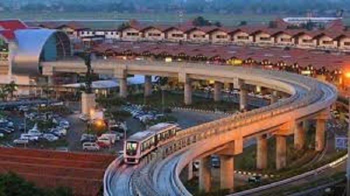 Skytrain Soekarno Hatta Airport