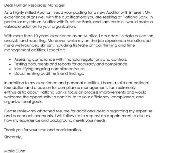 Contoh Cover Letter Bahasa Asing