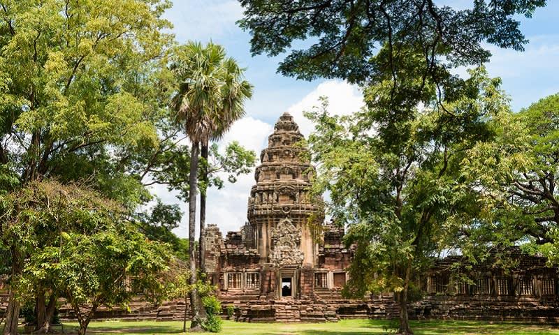 situs bersejarah di isaan thailand