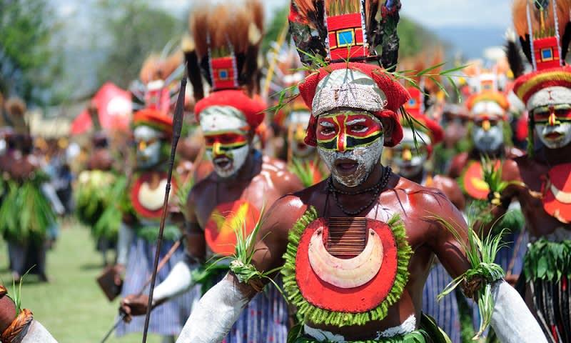 Pesta Budaya di Goroka, Papua Nugini