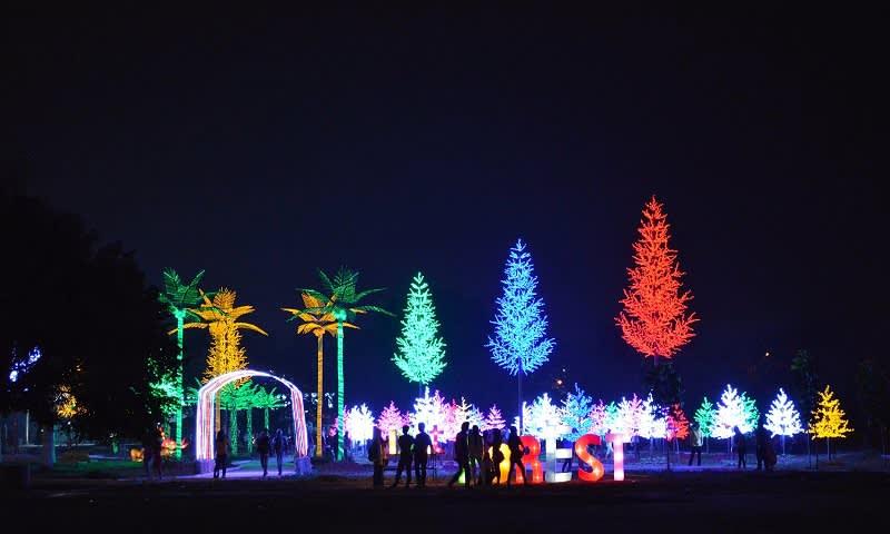 Taman pelangi sriwijaya