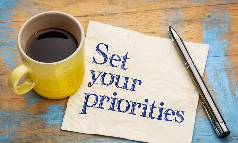 Pilih Prioritas