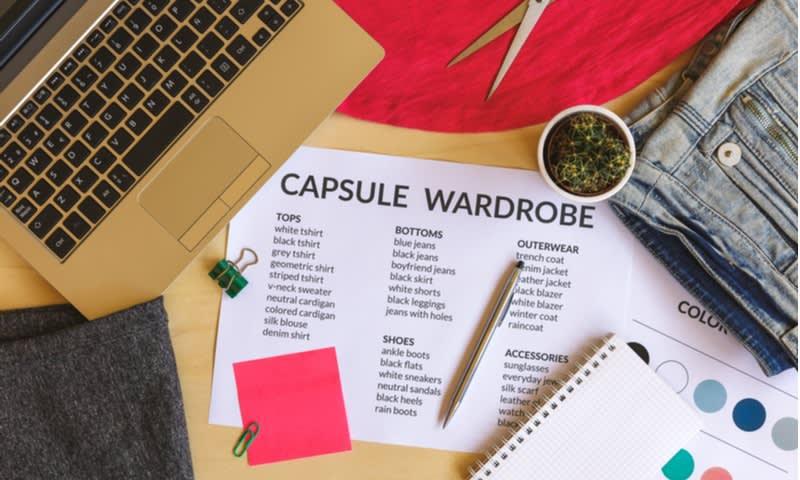 aturan capsule wardrobe