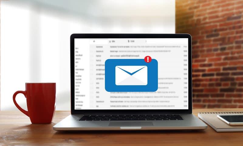 jangan membuka email