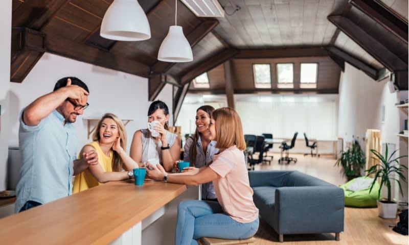 Bisa Terlibat dalam sebuah Kegiatan Komunitas yang Positif karena Coworking Space