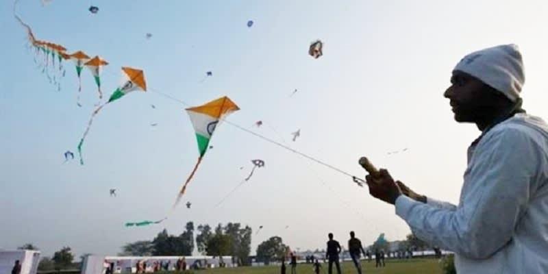 Lomba Layang-Layang di India