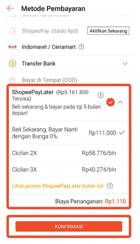 Shopee Paylater Belanja Sekarang Bayar Bulan Depan Cermati Com
