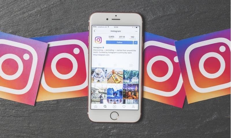 feed sosial media rapih dan teratur