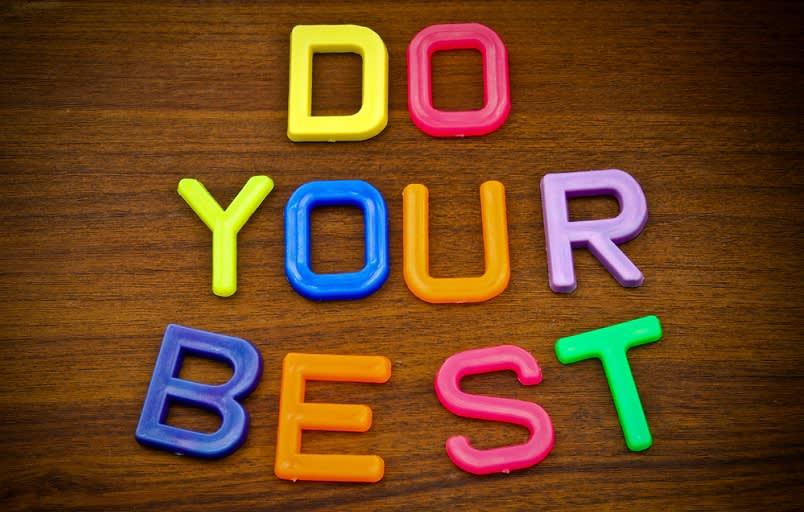 Lakukan Yang Terbaik