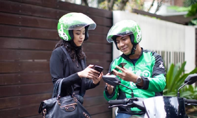 Top Up Go-Pay Langsung ke Driver