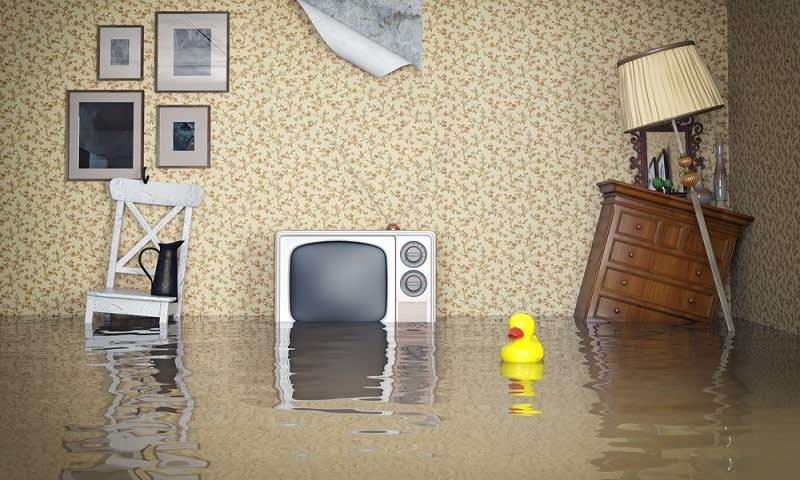 Perabot Terendam Banjir