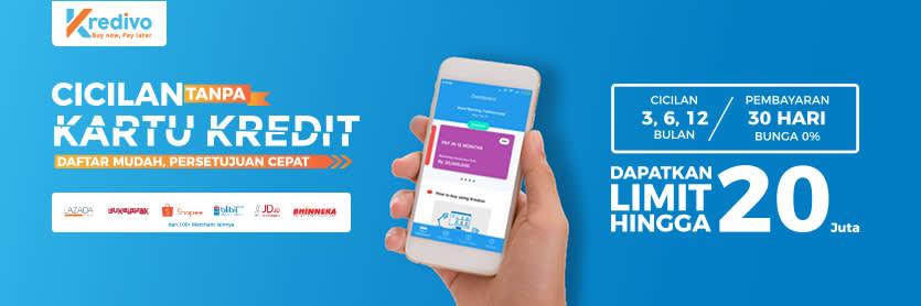 Cicilan Tanpa Kartu Kredit Kredivo