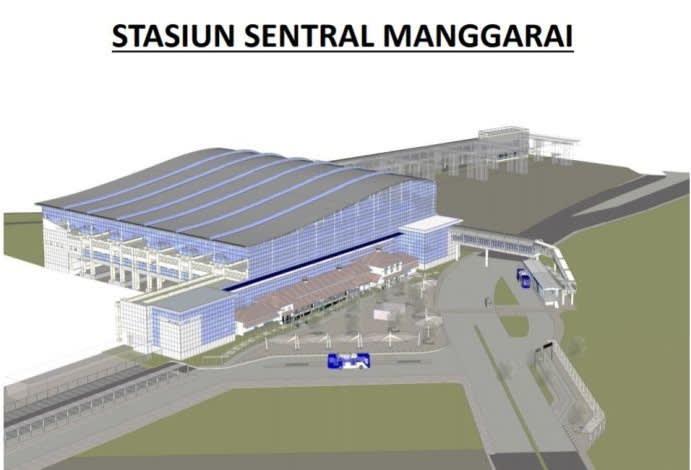 Desain Stasiun Manggarai