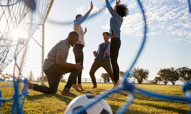 Olahraga sambil bermain
