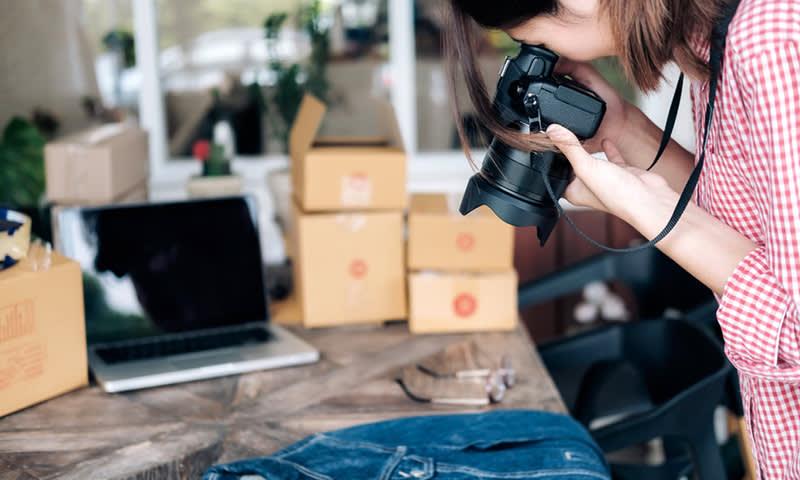 Mendapatkan Uang di Internet Kerja Sampingan Jual Foto