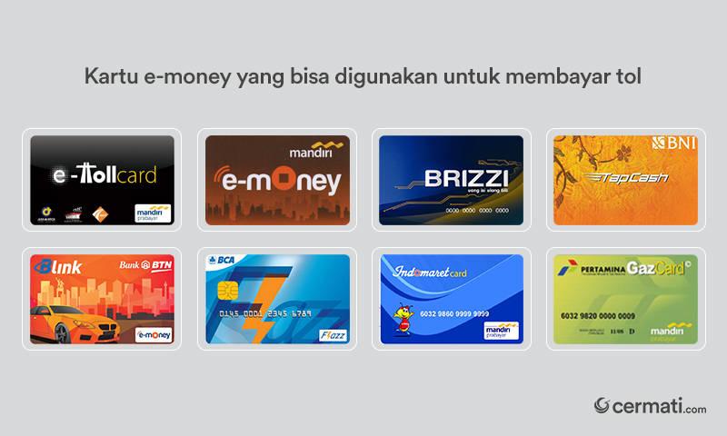 Bayar Tol Wajib Gunakan E Money Berlaku Oktober 2017 Cermati Com
