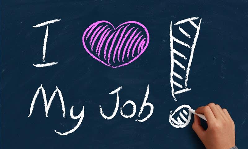 cintai pekerjaan