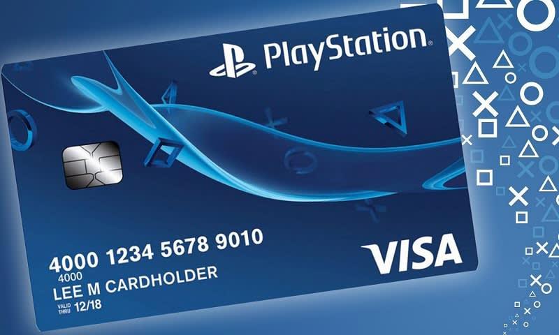 kartu kredit playstation