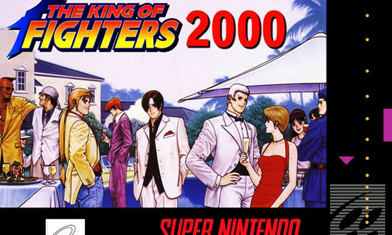 King of Fighters 2000 (English version)