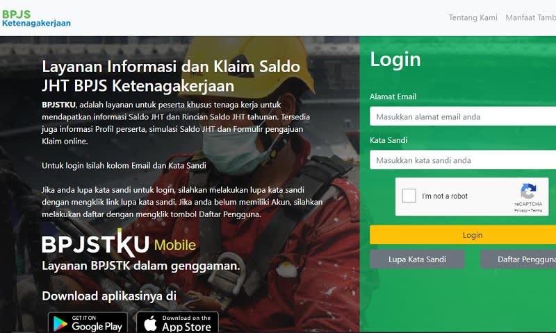 Intip Saldo JHT Bisa Online, Ini Cara Cek Saldo BPJS Ketenagakerjaan Lengkap - P@K EKO