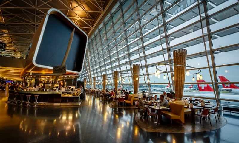 Bandara Zurich Swiss