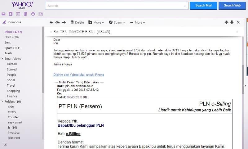 e-billing pln