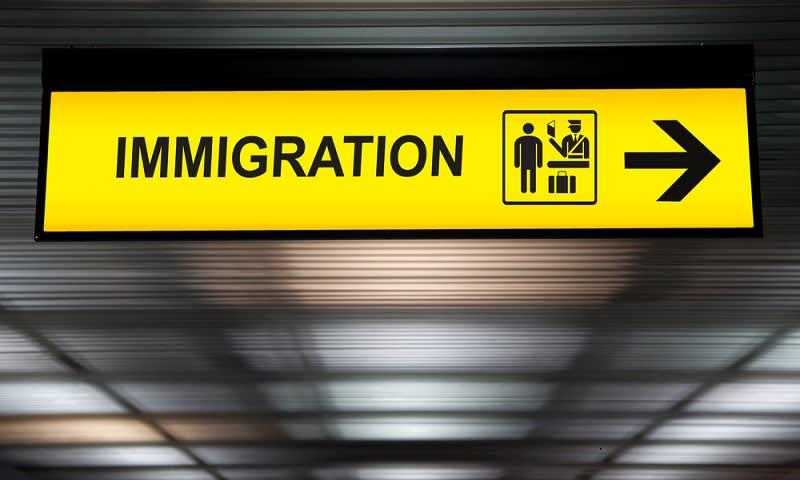 Imigrasi di Bandara