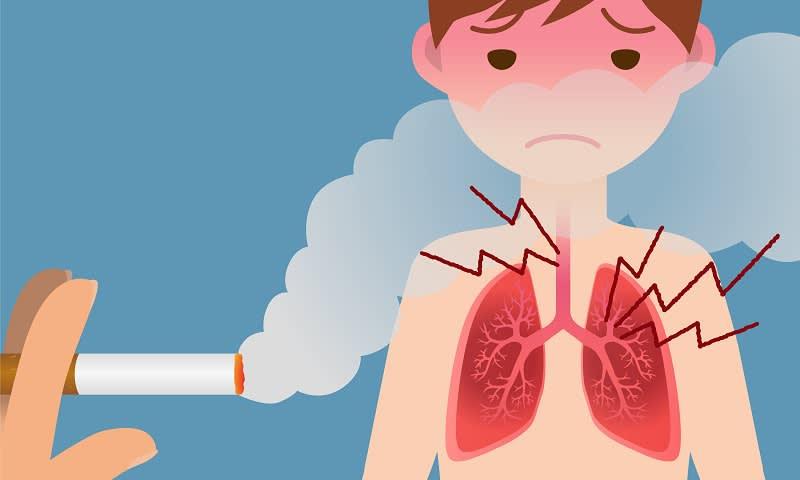 Bahaya Merokok Gambar Animasi Perokok Pasif Lebih Berbahaya Ini Dampaknya Bagi Kesehatan Cermati Com
