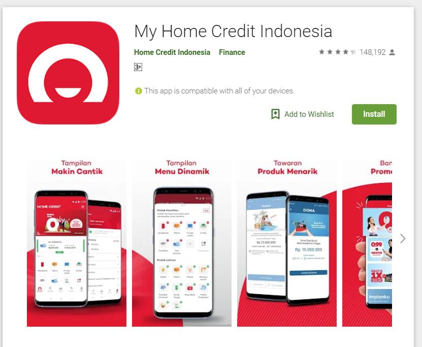 Aplikasi Home Credit