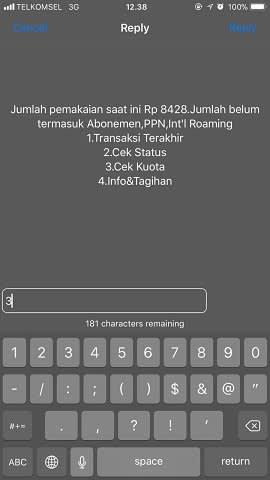 ilustrasi cek kuota internet telkomsel via menu dial